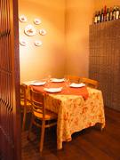 2~6名様までの個室スペース。接待の時に大人気です。