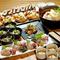 蟹・海老・地鶏…とバリエーション豊かな料理メニュー