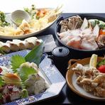 値段はするが料理に納得!「ひとすじ」宴会コースに舌鼓!!