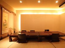個室やお座敷、テーブル席等多数ございます。