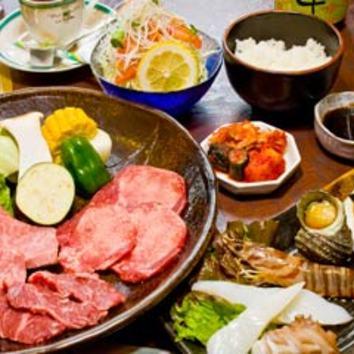 『焼肉 海鮮 幸』おまかせコース)