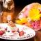 メインは黒毛和牛、高級食材も使ったお誕生日や記念日におすすめのお得な内容です。