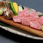九州産の高品質な食材でつくられた贅沢料理に舌鼓