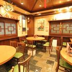 神戸南京町の老舗レストラン。