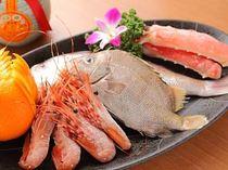 新鮮な魚介類をお愉しみ頂けます。