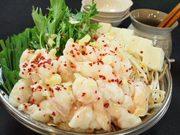 静岡産の牛小腸に野菜も沢山入ってビタミンバランスが良く、一年中好評です。
