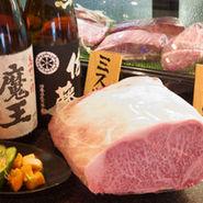 日本酒、焼酎ともに、レアなものを用意しています。 うちのコンセプトは「より良いものをより安く!」 お肉もお酒も日替わりでおススメもしていますので いろいろおためしください!