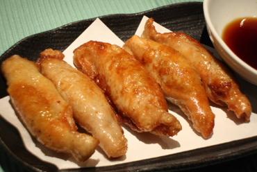 鶏もも肉の柚子唐揚げ