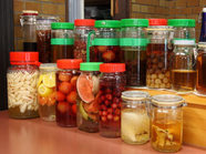 自家製の果実酒薬美酒