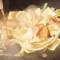 プリップリの牛ホルモンと新鮮シャキシャキ野菜