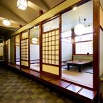 【全席個室】2名様~大人数まで対応できる個室なので、どんな場面にもご利用いただけます! お気軽にお問い合わせください。