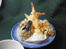 天婦羅 松(七点盛り) 1500円