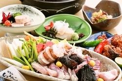 人気の岩塩プレート焼と職人が握る寿司にこだわったコースです。