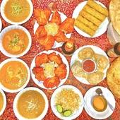 本場スタッフが調理する本格インド料理!