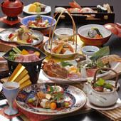 季節の会席料理 (当店の料理長自慢の創作料理・月変わり)