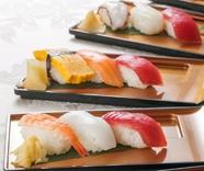 【ディナー】和食職人が握るお寿司