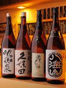 料理が引き立つ日本酒も各種ご用意。