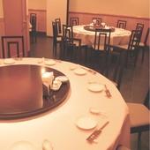 各種宴会に最適な個室円卓席
