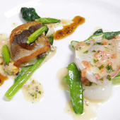 北陸敦賀のお魚料理盛合せミラベルスタイル