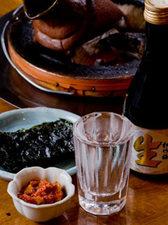 チャンジャ(真鱈の内臓の塩辛)