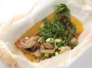 ●本日の魚料理  魚は沼津より採れたてを直送しております。