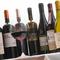イタリア各地より料理に合う厳選ワインを取り揃えております。