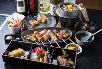 おすすめ串焼きコース「グルメコース」