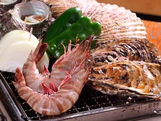 刺身だけでなく、豪快なBBQもおいしい新鮮な「魚介類」