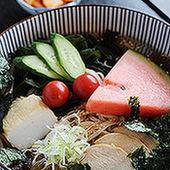 そば冷麺 (夏の限定メニュー)