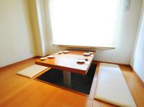 半個室の堀ごたつ席(4~5名様)