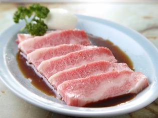何軒もの問屋を探してたどり着いた肉を使用『カルビ焼』