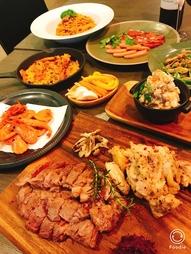 少し贅沢に過ごしたい夜に♪肉料理が二品も入って満足間違いなしの全10品の贅沢プラン♪