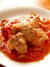 軟骨ソーキのトマトソース煮
