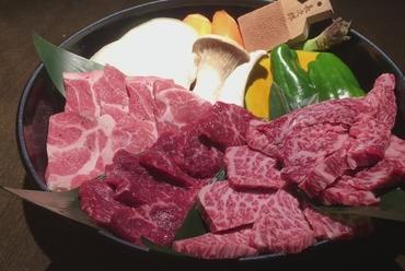 知多牛肉盛り合わせ(3~4人前)