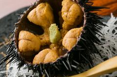■近海直送の海の幸と仙台名物牛たん焼、他 合計8品のコースです。