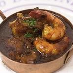 海老、帆立、ツブ貝のチリソース煮 セウタ