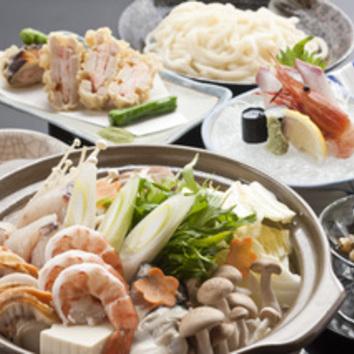 冬季限定 「鍋付きコース」 2h飲放付 ¥5000円(税込)