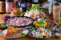 ※ 4名様~要予約  ※ ご予約時 お鍋種類と味噌か醤油を選んで下さい。  ※ 3月末までの予定