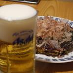 生ビール(中)/生ビール(小) (アサヒ)