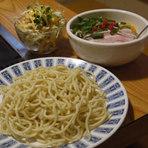 豚玉orイカ玉orエビ玉、そば+玉子、ミニサラダ