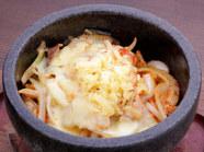 石焼き豚キムチーズ