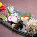 新鮮でおいしいお刺身が山梨の居酒屋でも食べられる!