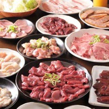 ■食べ放題コース(飲み放題なし)
