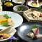 月替わりコース3500円~創作和食コースが大人気!