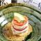 フレッシュトマトと生湯葉の『生湯葉とトマトのミルフィーユ』