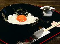 ビタミンEが普通卵の約30倍、ミネラル分も豊富な宝友の卵ご飯