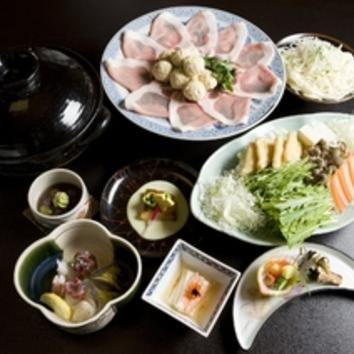 【忘新年会】ハーブ豚と加賀地鶏のハリハリ鍋 6000円(税抜)