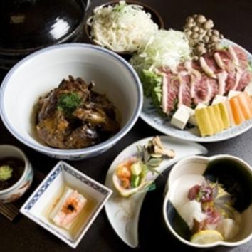 【忘新年会】合鴨と京菜のハリハリ鍋 7500円(税抜)