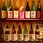 旬な料理と日本酒が合う