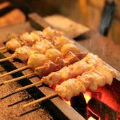 炭火焼の本格串焼